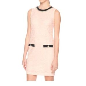 Karl Lagerfeld pink dress